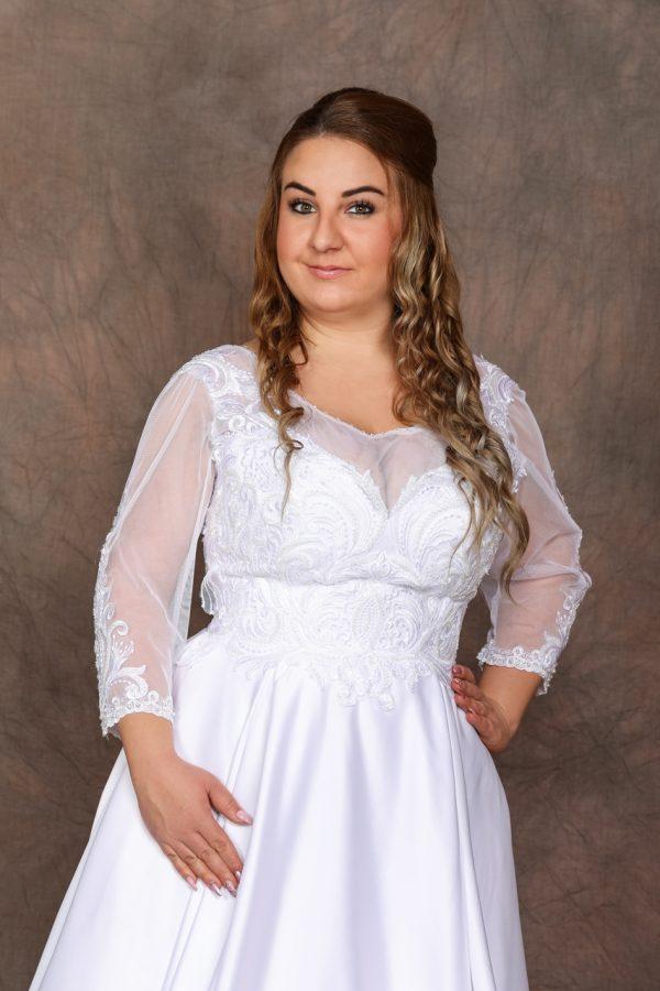 Molett menyasszonyi ruha – 1177