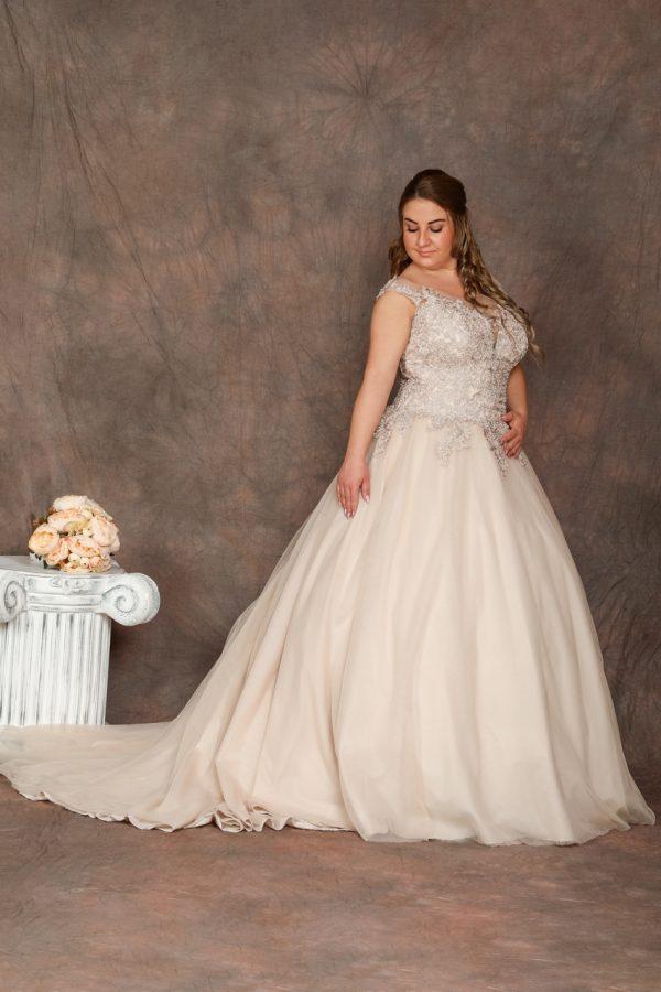 Molett menyasszonyi ruha – 1168