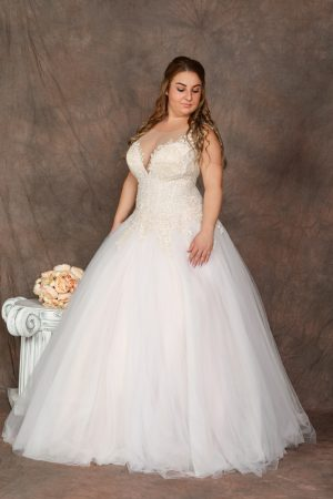 Molett menyasszonyi ruha - 1165
