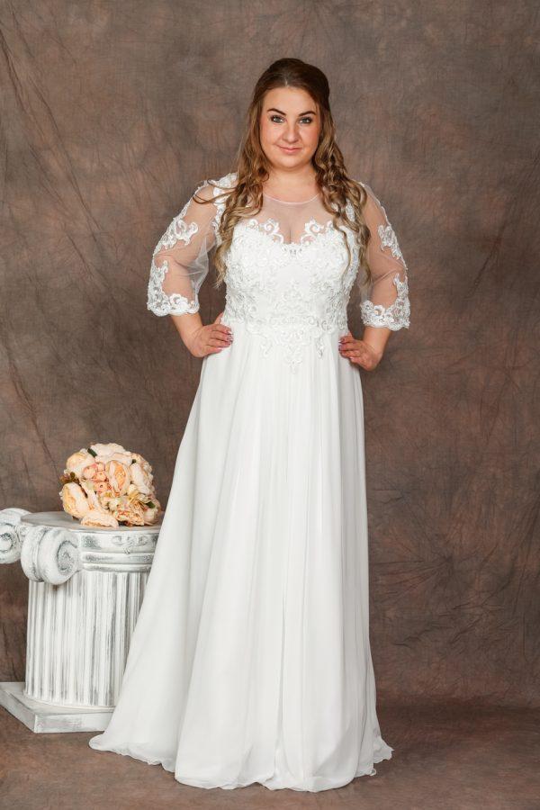 Molett menyasszonyi ruha - 1163